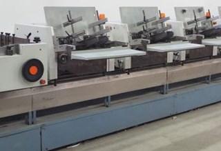 Brehmer / Stahl ST-200 stitching line Zusammentragmaschine - Sammel hefter