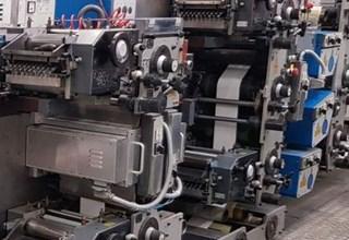 Gallus R 200 B - labels printing Tipografía