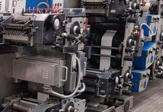 Gallus R 200 B - labels printing 凸版机