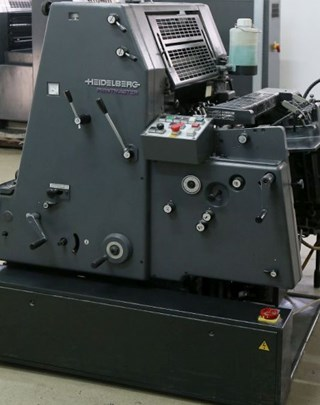 Heidelberg GTO 52-1 Printmaster + NP Sheet Fed
