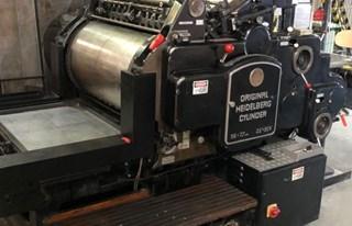 Heidelberg Cylinder SBG 56 x 77 cm Die Cutting