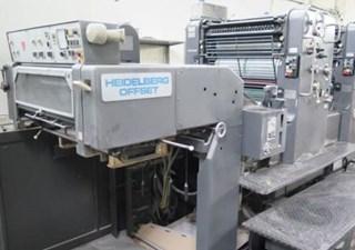 Heidelberg Speedmaster SM 72 ZP Offset de pliegos