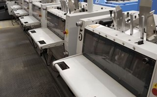 Heidelberg Stitchmaster ST 350 Saddlestitchers
