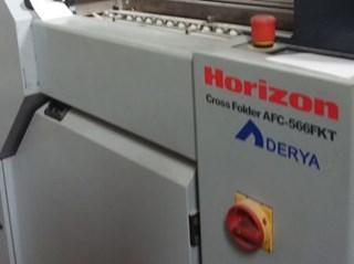 Horizon Cross Folder AFC-566 FKT 折页机