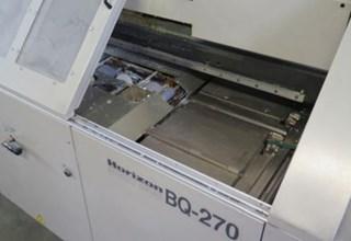 Horizon BQ-270 Encuadernadoras rusticas de cola caliente o cola PUR; Encuadernación en rústica