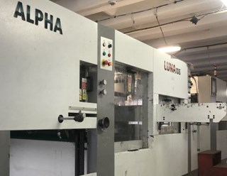 SBL Alpha Luna 106  Die Cutters - Automatic and Handfed