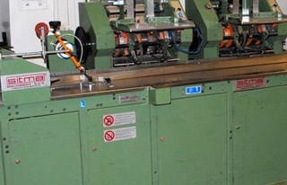 Sitma C-905 wrapping and inserting system EMBALLAGE