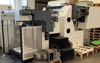 Yawa TYM 780 A II - automatic hot foil stamping and die cutting Hot Foil Stamping