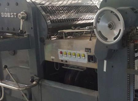 Show details for Bobst SP 900 die cutter