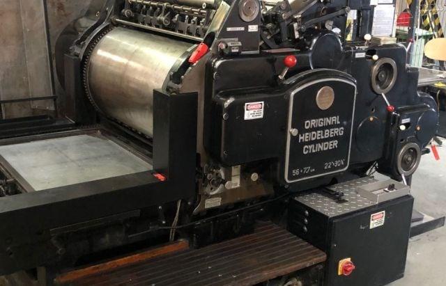 Show details for Heidelberg Cylinder SBG 56 x 77 cm