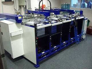 Col-Tec 5 Station B3 Deep Pile Feed Collator  Collators