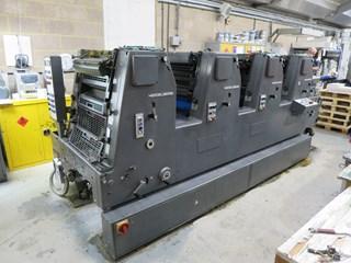 Heidelberg GTOV 52 Gebrauchte Bogenoffsetmaschinen
