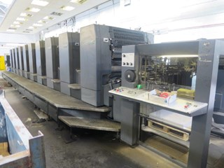 Heidelberg Speedmaster SM 102-10-P6 Sheet Fed