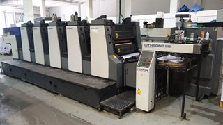 Komori Lithrone L-528 Sheet Fed