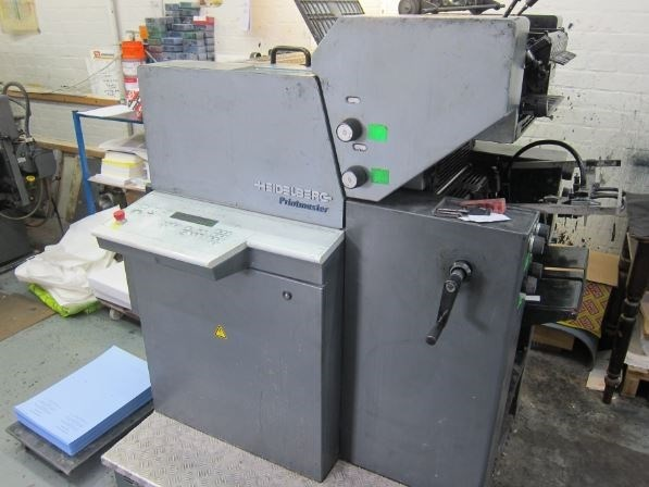 Show details for Heidelberg Quickmaster PM 46 2