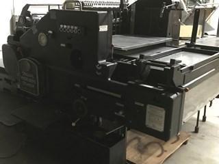 HEIDELBERG SBD Buchdruck-Zylinder & Tiegel