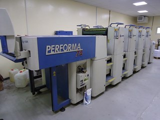 KBA PERFORMA 74 4 Sheet Fed