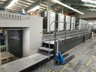 KOMORI LS 840 PH Sheet Fed
