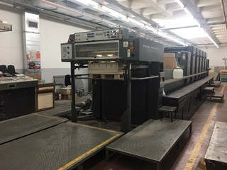 HEIDELBERG SPEEDMASTER CD 102 F+L           Sheet Fed