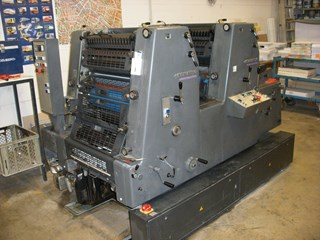 PRINTMASTER PM GTO 52-2-P+ Sheet Fed