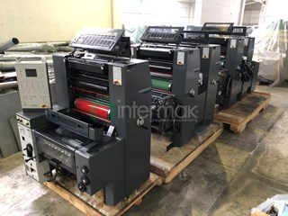 Heidelberg Printmaster PM 52-5 Sheet Fed