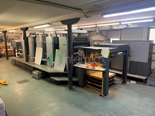 HEIDELBERG SPEEDMASTER SM 102-5P3 Sheet Fed