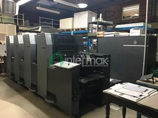 HEIDELBERG SPEEDMASTER SM 52-4-P 单张纸胶印机
