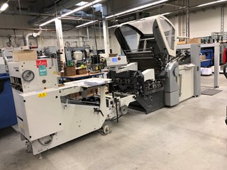 Heidelberg STAHLFOLDER KH 78/4KTL    Folding machines