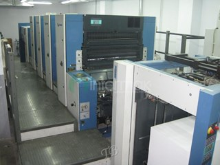 KBA RAPIDA RA 105U-4 PWHA 单张纸胶印机