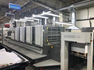 KOMORI LITHRONE LS 440 H-LX Sheet Fed