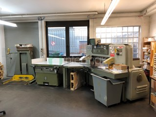 POLAR 115 EMC-MONITOR   Guillotines/Cutters