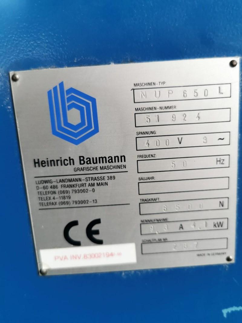 Baumann NUP 650 L