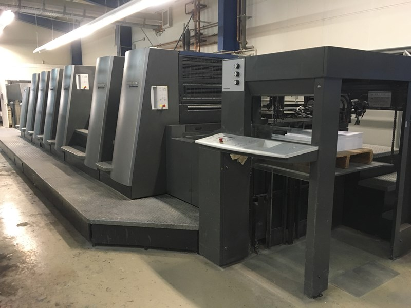 Show details for Heidelberg SPEEDMASTER CD 74-6-P3+LX-(C)