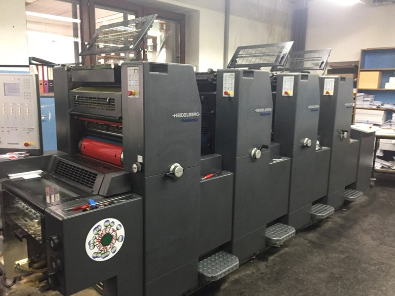 Show details for Heidelberg PRINTMASTER PM 52-4+