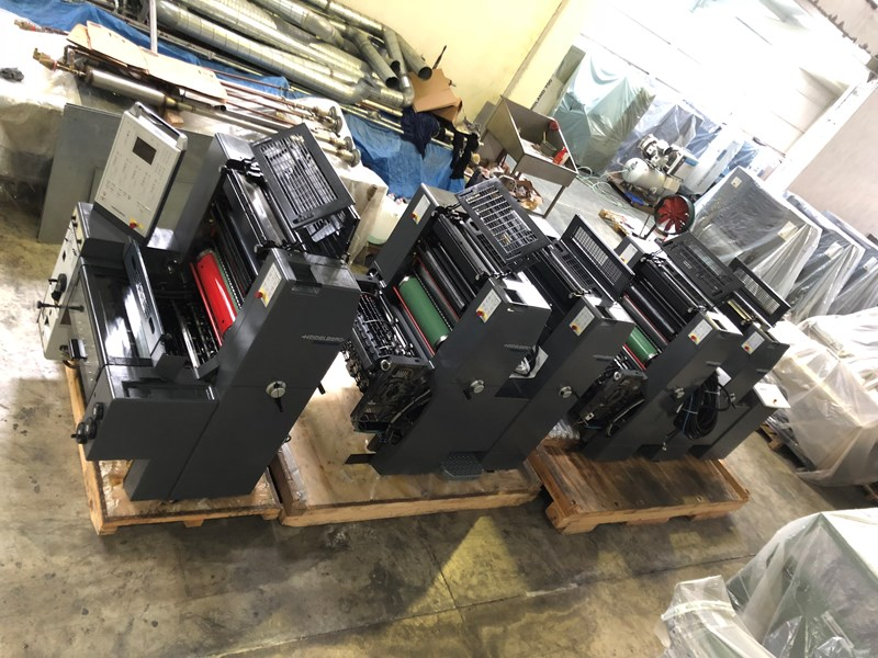 Show details for HEIDELBERG PRINTMASTER PM 52-5