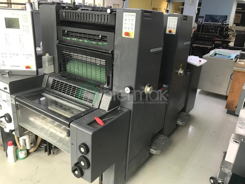 Show details for HEIDELBERG PRINTMASTER PM 52-2+
