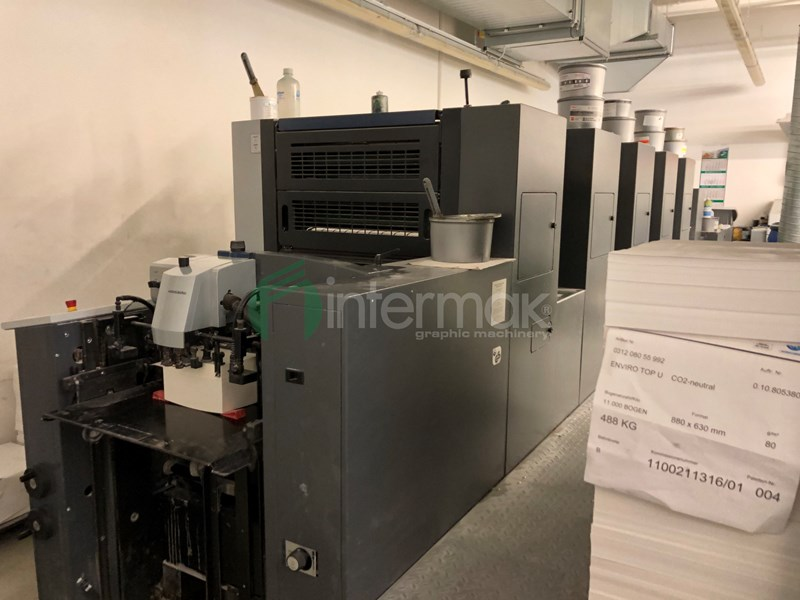 HEIDELBERG SPEEDMASTER SX 52-5-LX (0,6mm)