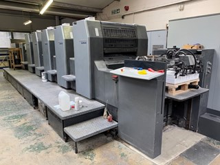2007 Heidelberg SM 74-5P3+L  Machines offset à feuilles