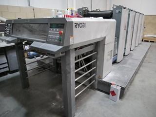 2008 Ryobi 755 Wide Machines offset à feuilles