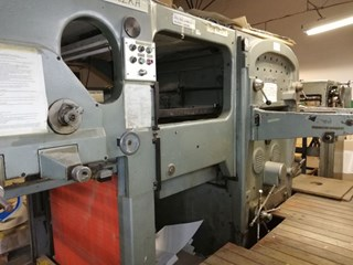 Bobst SP 1260-E  Die Cutting