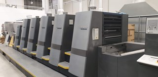 Heidelberg CD74-5+LX 2005 Sheet Fed