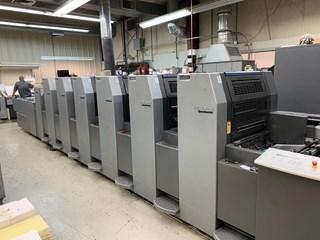 Heidelberg SM 52 - 6P3 + L 2005 单张纸胶印机
