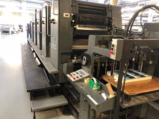 Heidelberg SM 72 V + L 1990 Post Drupa Sheet Fed