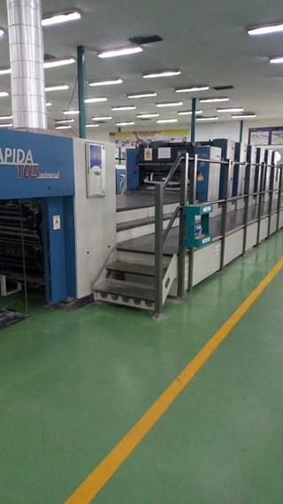 KBA Rapida 105 - 6 + L CX 2008 Universal Sheet Fed