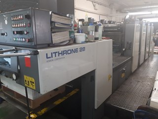 Komori Litrone L 428 EH UV 1998 Sheet Fed
