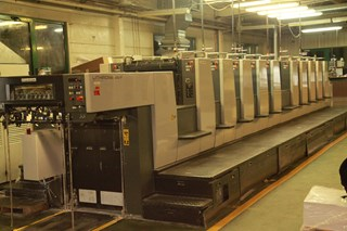 Komori Lithrone LS- 1026 EH 2004 Sheet Fed