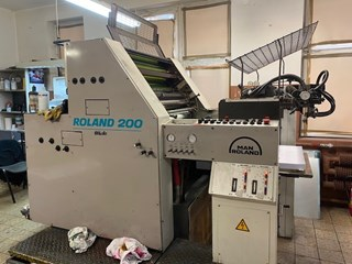 Man Roland R202TOB Sheet Fed