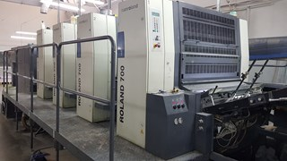 Manroland 704 B1 100 Sheet Fed