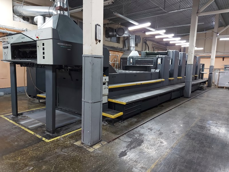 Show details for Heidelberg CD 102-5+L 1999