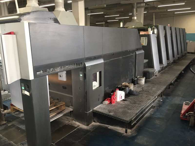 Show details for Heidelberg CD 74 - 6 + LX F 2006